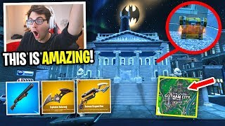 I can only use BATMAN LOOT in Gotham City in Fortnite... (NO MORE TILTED TOWN)