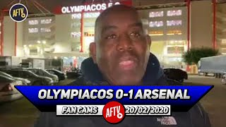 Olympiacos 0-1 Arsenal   I'm So Pleased Lacazette Got The Vital Away Goal!
