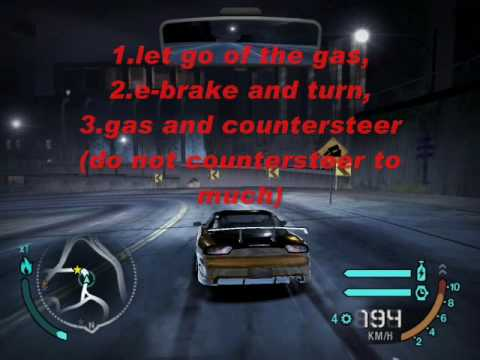 Need For Speed Carbon Free Roam Drift Tutorial