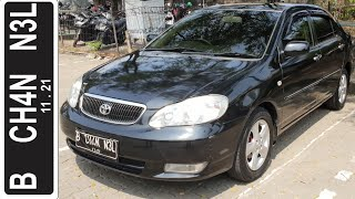 In Depth Tour Toyota Corolla Altis G AT [E130] (2003) - Indonesia