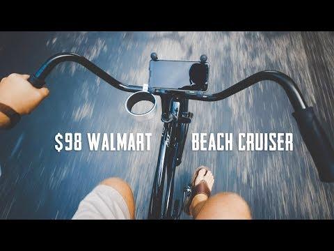 $98 Walmart HYPER Beach Cruiser Review