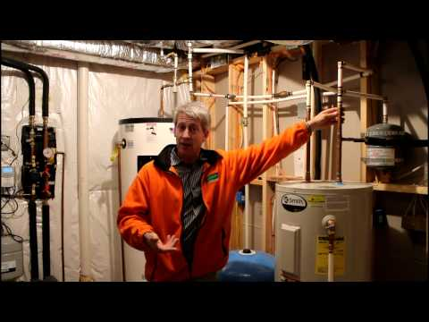 Hybrid Geothermal Solar Thermal Home Tour - Video 2