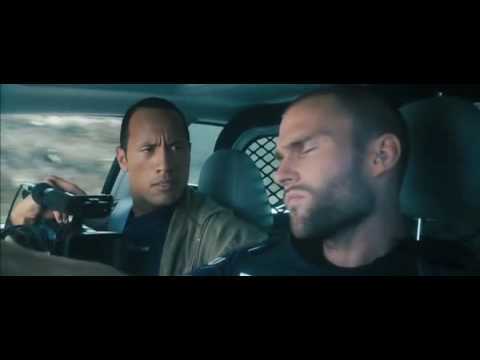 Southland Tales - Officer Ronald Taverner goes for a drive