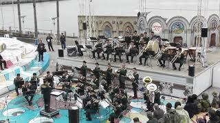 陸軍分列行進曲 中部方面音楽隊 Middle Army Band OSAKA防衛防災フェスティバル2019 陸上自衛隊 Japan