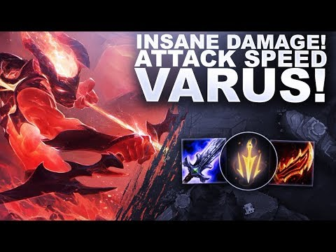 INSANE DAMAGE ON ATTACK SPEED VARUS! *NEW BUFF!* - League & Chill | League of Legends