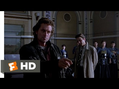 Black Rain (5/9) Movie CLIP - Kendo Confrontation (1989) HD