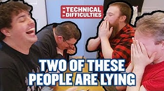 Meatballs, Noseflutes and Judith | Two Of These People Are Lying 1x01  | The Technical Difficulties