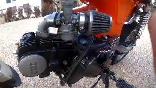 Présentation du dax avec le moteur 125