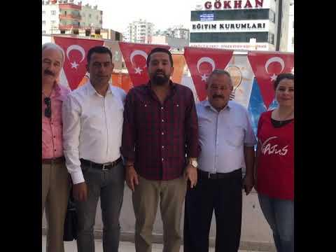 17 Haziran 2018 , İhsan GÜLTEKİN,ak parti mezitli ilçe başkanlığı