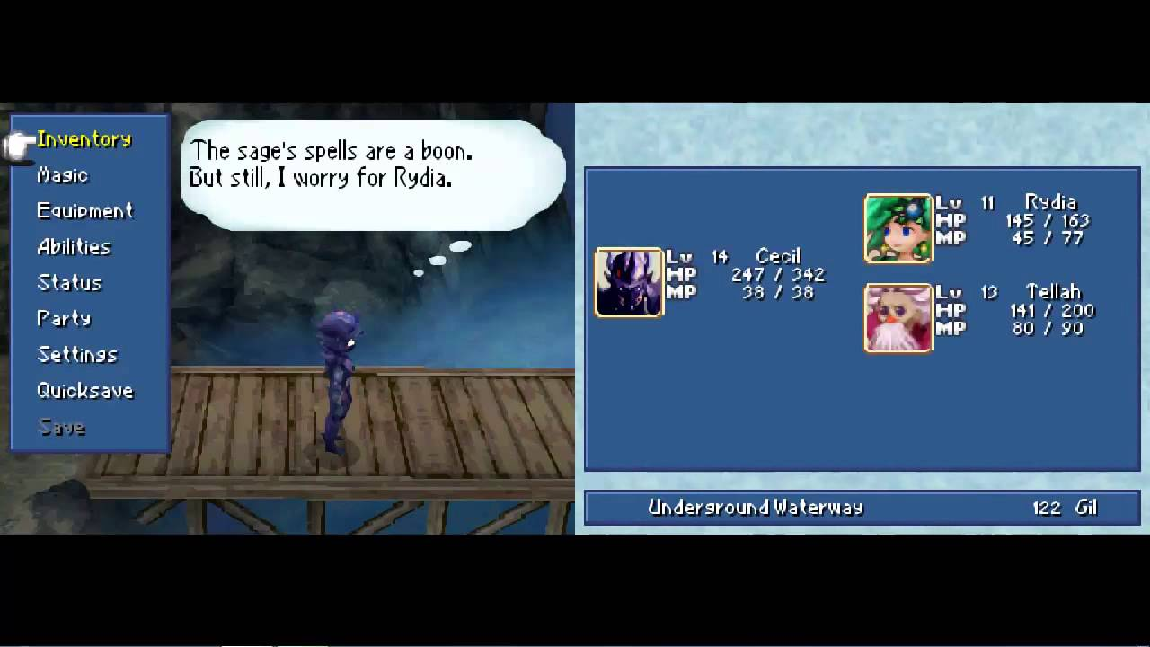 Let\'s Play Final Fantasy IV DS #004 - Underground Waterway
