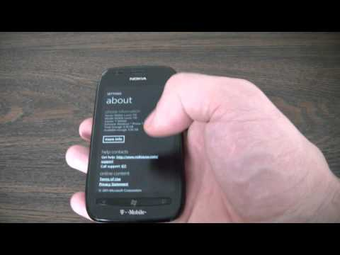 How To Restore A Nokia Lumia 710 Smartphone To factory Settings