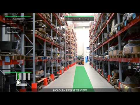 Smart Logistics Solution for Hololens