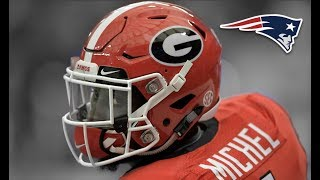 Sony Michel | Welcome To New England | Georgia Bulldogs Highlights | HD |