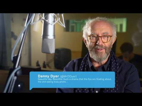 Jonathan Pryce performs 'Tweets That Sound Better Out Loud' (Explicit Version)