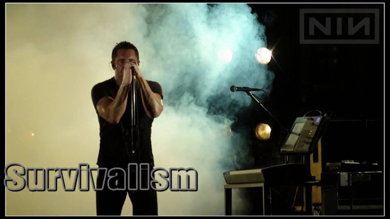 HD) Nine Inch Nails - Survivalism (Live in Charlotte) - YouTube