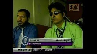 Rahul Dravid trolls Arun Lal! EPIC SIX IN REPLY!