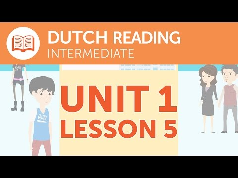 Intermediate Dutch Reading - A Promotional Dutch Leaflet