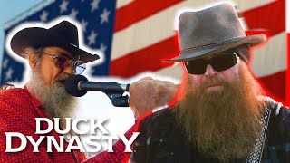 ZZ Top Performs with Si   Duck Dynasty