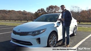 Review: 2017 Kia Optima SXL - Is it worth 37k?