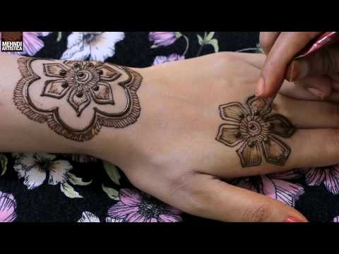 Stylish Latest Henna Mehndi Design For Hand | Most Beautiful Floral Gulf Mehendi By MehndiArtistica