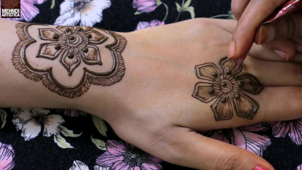 Stylish Latest Henna Mehndi Design For Hand Most Beautiful Floral