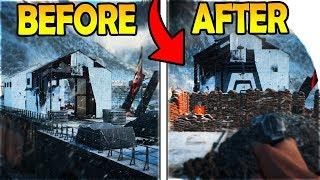 BATTLE ROYALE INBOUND - BASE BUILDING in BATTLEFIELD V GRAND OPERATIONS ( Battlefield 5 Gameplay )