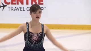 Евгения Медведева, КП. Skate Canada Autumn Classic International 2018.