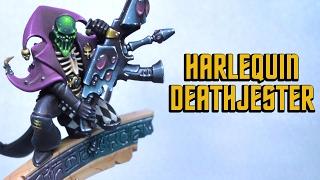 harlequin death jester kujo painting showcase