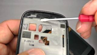 Nexus S i9020 Metal Frame Swap - Bezel, Touch Keys, & Screen Replacement