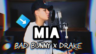 Bad Bunny, Drake - Mia (Cover)