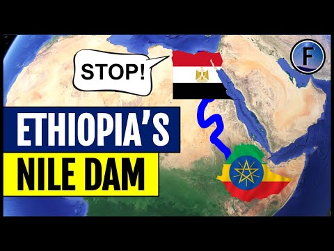 Ethiopia's Nile Dam that & Conflict with the Arab Republic of Egypt