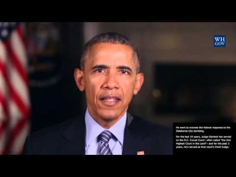 President Obama -  April 30th, 2016 - video caption - It's Time for the Senate To Do Its Job