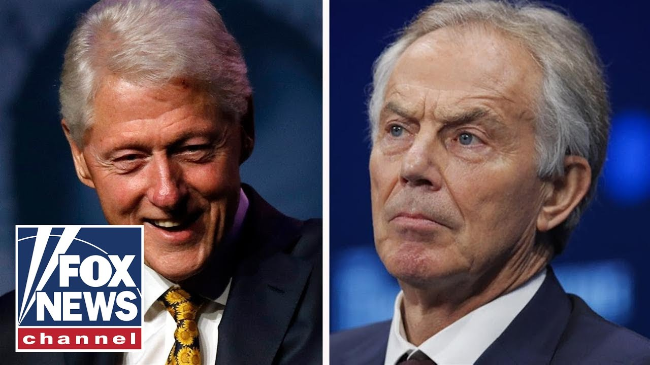 President Clinton asked for a political favor from UK PM Tony Blair