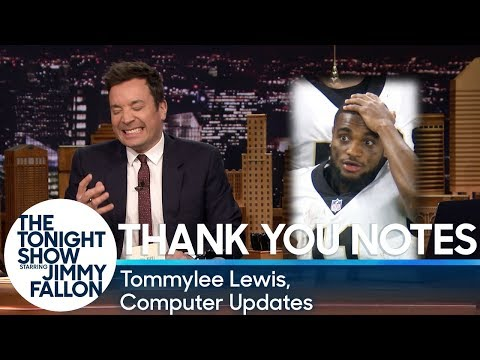 Download Youtube: Thank You Notes: Tommylee Lewis, Computer Updates