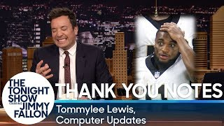Thank You Notes: Tommylee Lewis, Computer Updates thumbnail