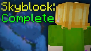 I Actually Completed Hypixel Skyblock!
