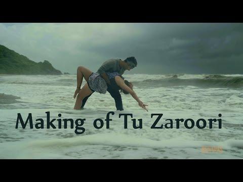 Making of song Tu Zaroori | ZiD | Sunidhi...