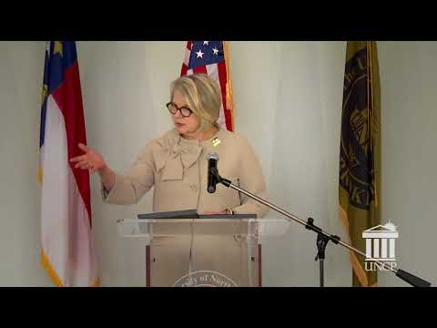 UNC System President Margaret Spellings State of the University Address Tour at UNC Pembroke