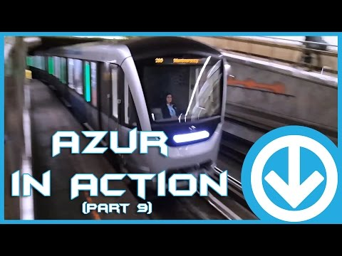 New Montreal's Metro Azur in action at various station (Part 9)