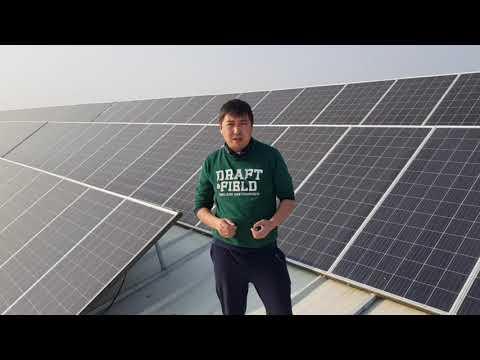 Солнечная Станция в г.Шымкент на 100 кВт