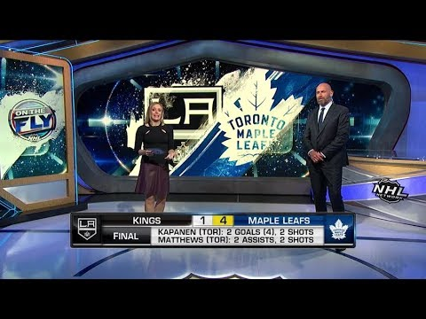 NHL On The Fly:  Kings vs Leafs:  Breaking down tonights Maple Leafs vs Kings game  Oct 15,  2018