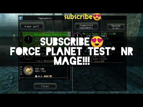 AVABEL ONLINE : FORCE PLANET TEST* NR MAGE!!!