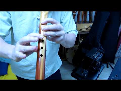 Flutorial #16: Scarborough Fair Revisited for 5 hole Native Americanstyle Flute