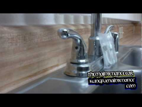How To Tighten Down A Loose Faucet Handle YouTube - How to tighten kitchen faucet