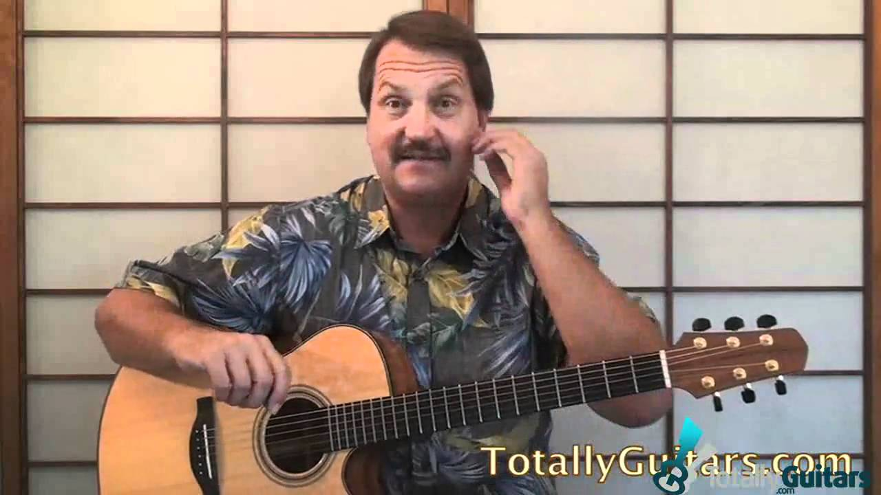 how to play centerfield on guitar