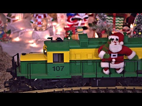 A &  Weird Al & -style Model Train Video For Christmas