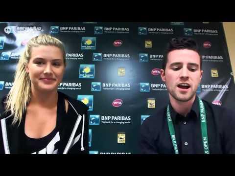 BNP Paribas Open Google+ Hangout with Genie Bouchard