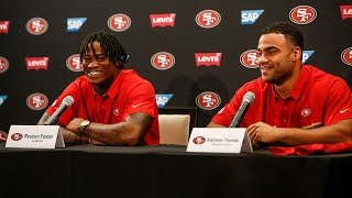 49ers Introduce Solomon Thomas and Reuben Foster