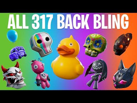 FORTNITE ALL BACK BLING (All Season 1 To 10 Backpack)
