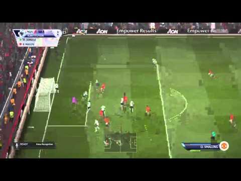 FIFA15 Televised Match Man Utd vs Spurs 08/08/15